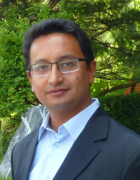 Head shot of Dr. Biraj Karmacharya