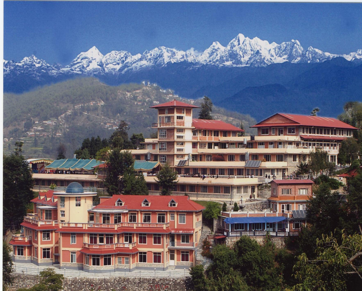 The hospital in Dhulikhel, Nepal.