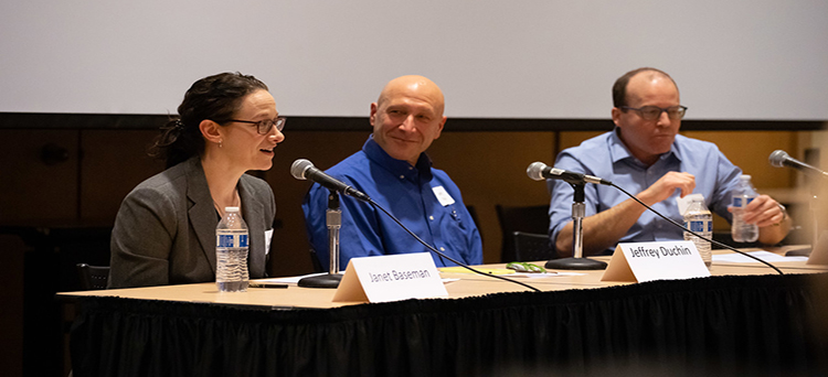 Epi faculty Janet Baseman and Jeff Duchin on COVID-19 panel