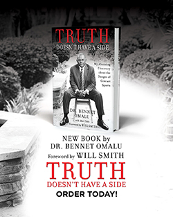 Book Truth Doesn't Have a Side by Dr. Bennet Omalu