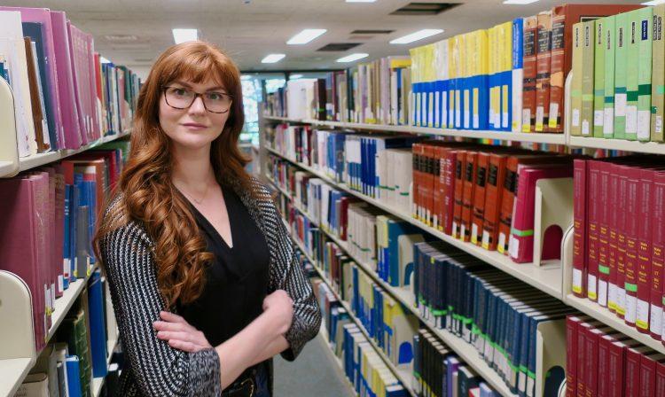 Kim Dalve, UW Epi Doctoral student, researches the impact of remote services on domestic violence survivors